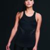 Ellesport Hi-Neck Sleek Perfromance Vest with Support – Black
