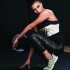 Ellesport Styled Stripe Mesh Sports Tank – Black/Prosecco