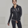 Ellesport Warmwear Thermal Long Sleeve Zipped Top – Rococo Marl