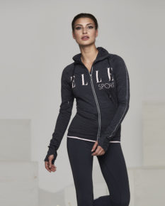 Ellesport Warmwear Thermal Long Sleeve Zipped Top – Rococo Marl