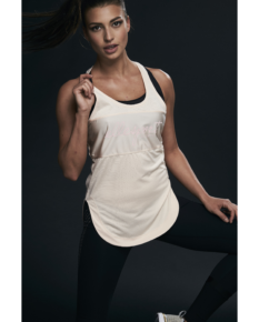 Ellesport Styled Stripe Mesh Sports Tank – Prosecco