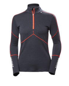 Helly Hansen Lifa Merino 1/2 Zip - Graphite Blue