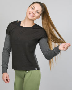Only Play Meta Brushed Sweat 15135078- Grey Melange
