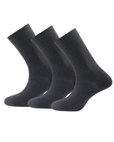 Devold Daily Medium Sock 3pk – Black