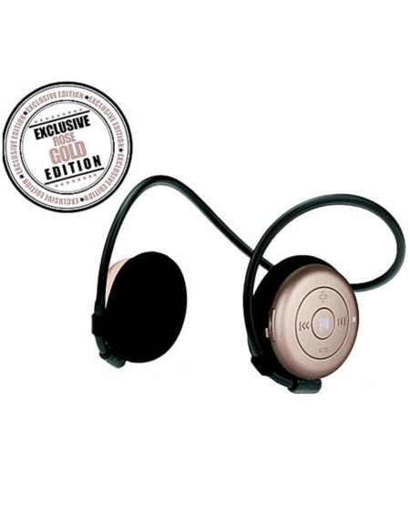 Limited Edition Trådløse Hodetelefoner Dame - Rose Gold