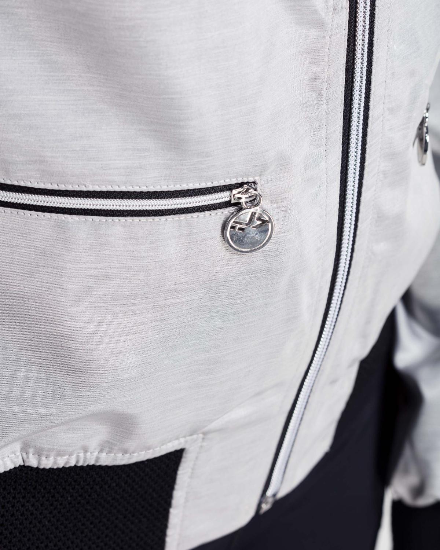 RöHnisch Blink Bomber Jacket – Silver