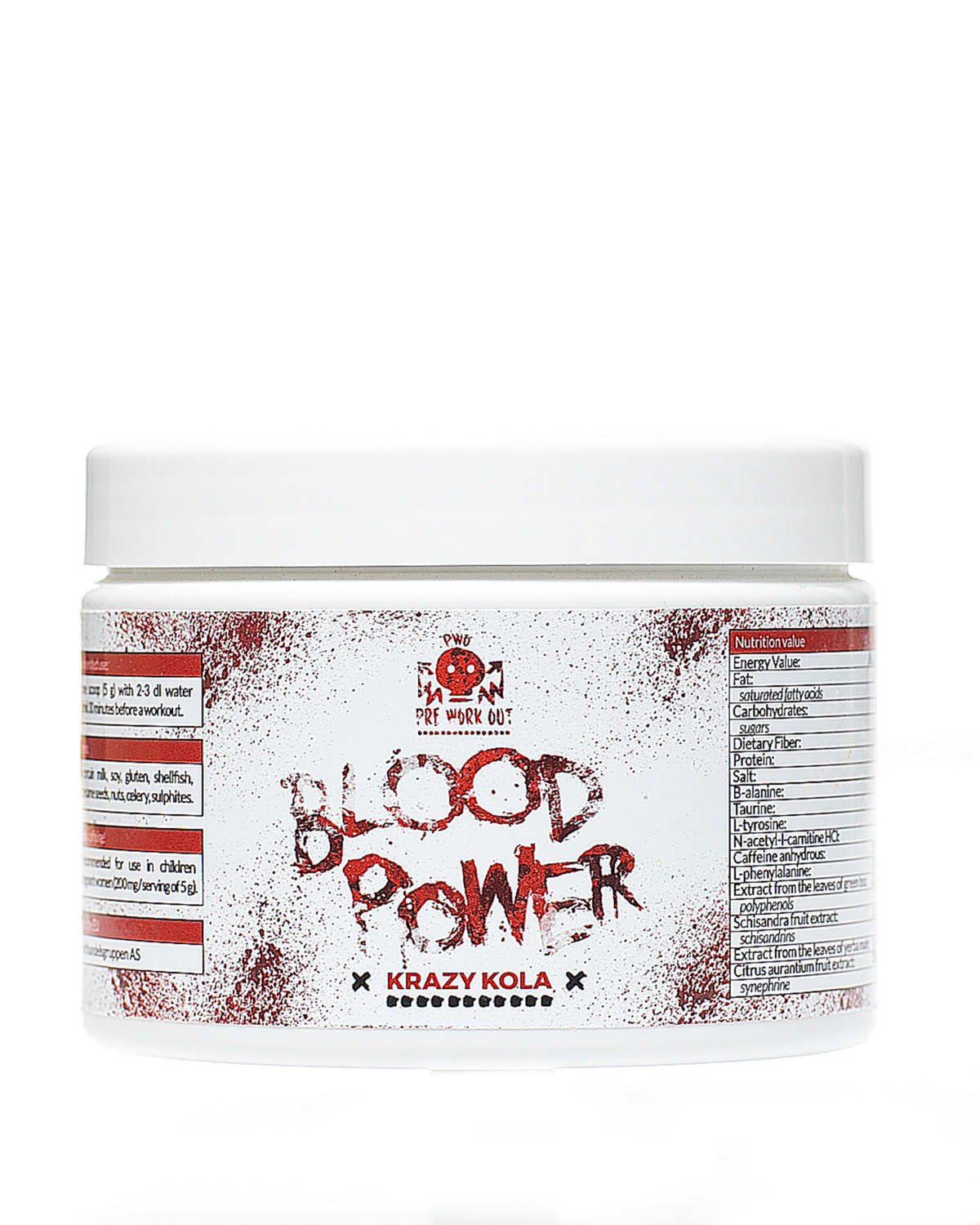 Blood Power Pre work out 1