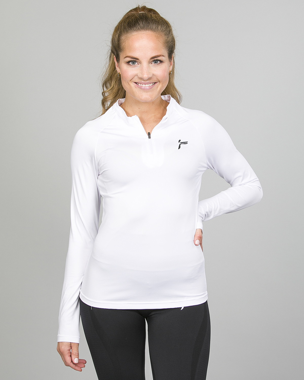Famme Long Sleeve White bct- w