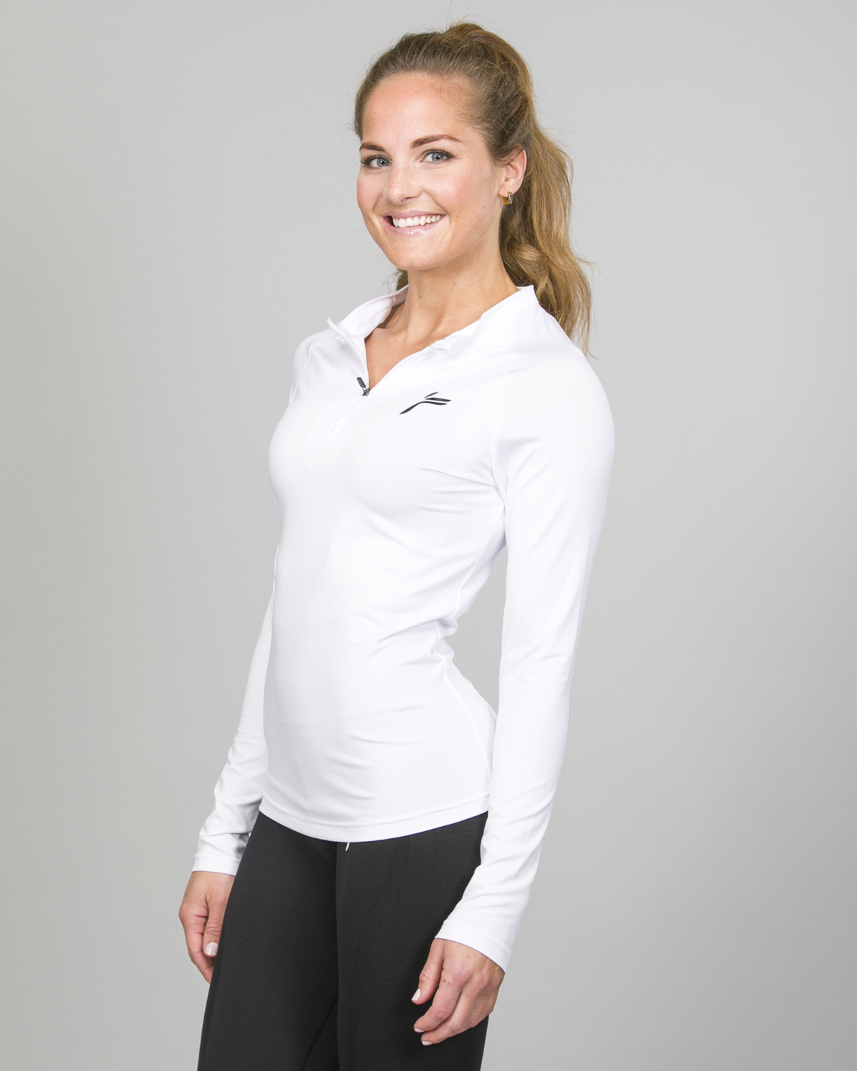 Famme Long Sleeve White bct- w f