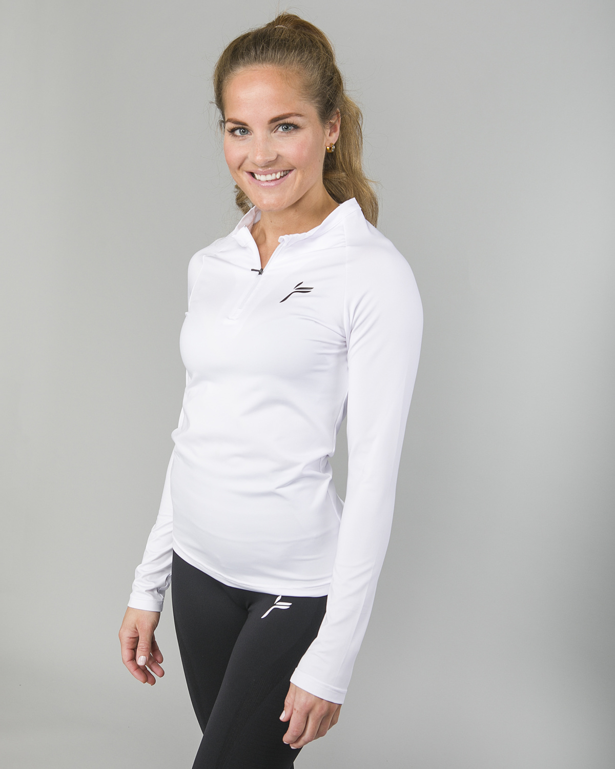 Famme Long Sleeve White bct- w h