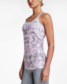 Röhnisch Long Tank Top Aop - Cherry Blossom Ocean Ripple