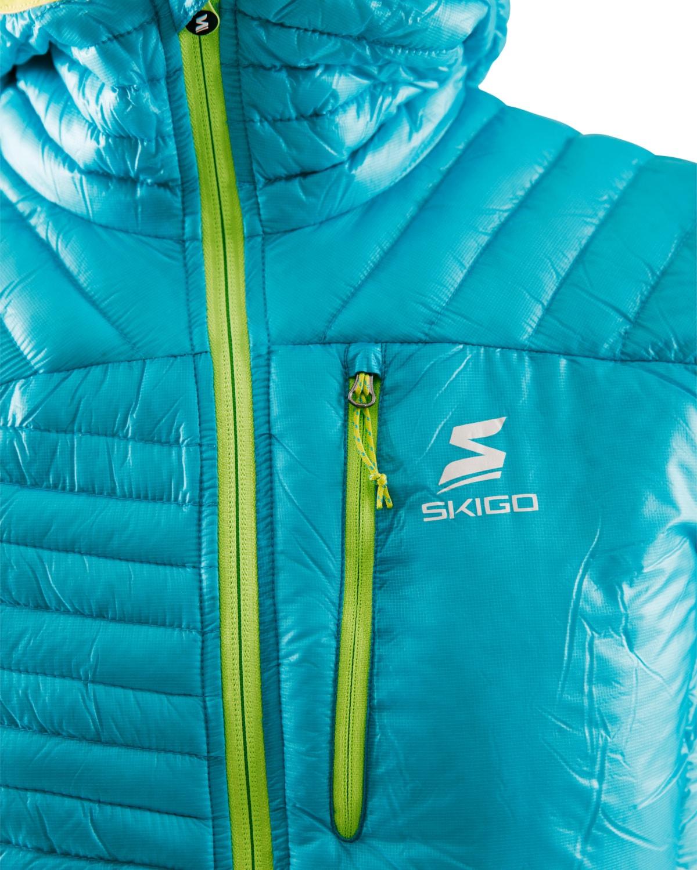 Skigo 1502002-126 ApexPrimaloftJacket_M_turquoise_detail2