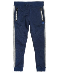 Superdry Gym Tech Stripe Jogger - Midnight Navy Marl/Grey Grit