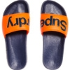 Superdry Superdry Pool Slide - Dark Navy/Hawaii Orange
