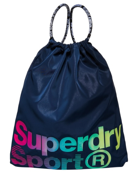 Superdry Drawstring Bag - Navy
