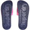 Superdry Superdry Pool Slide - Total Eclipse Navy/Fluro Pink