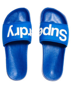 Superdry Superdry Pool Slide - Racer Cobalt/Optic White