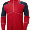 Helly Hansen Lifa Merino 1/2 Zip - Flag Red