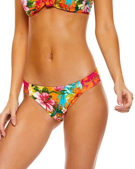 Banana Moon Tamra Tropisun Bikini Bottom - Orange Tropical d