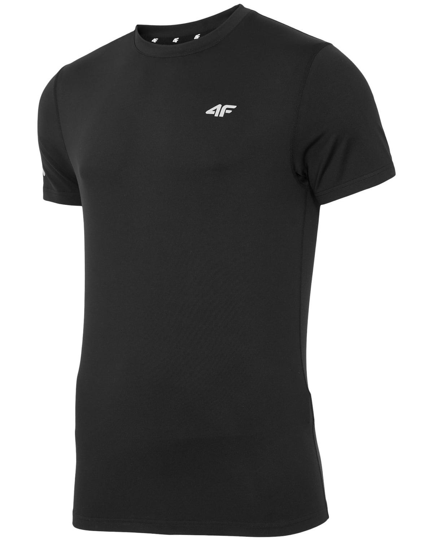 4F T-Shirt Fitness – Black