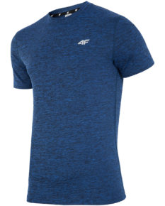 4F T-Shirt Fitness - Navy Melange