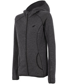 4F Fleece - Black Melange