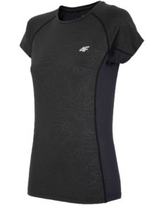 4F T-Shirt Fitness - Black