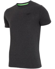 4F T-Shirt - Dark Gray Melange