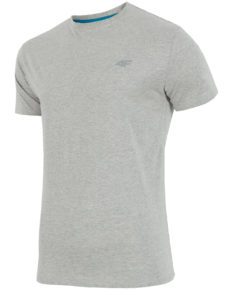 4F T-Shirt - Light Gray Melange