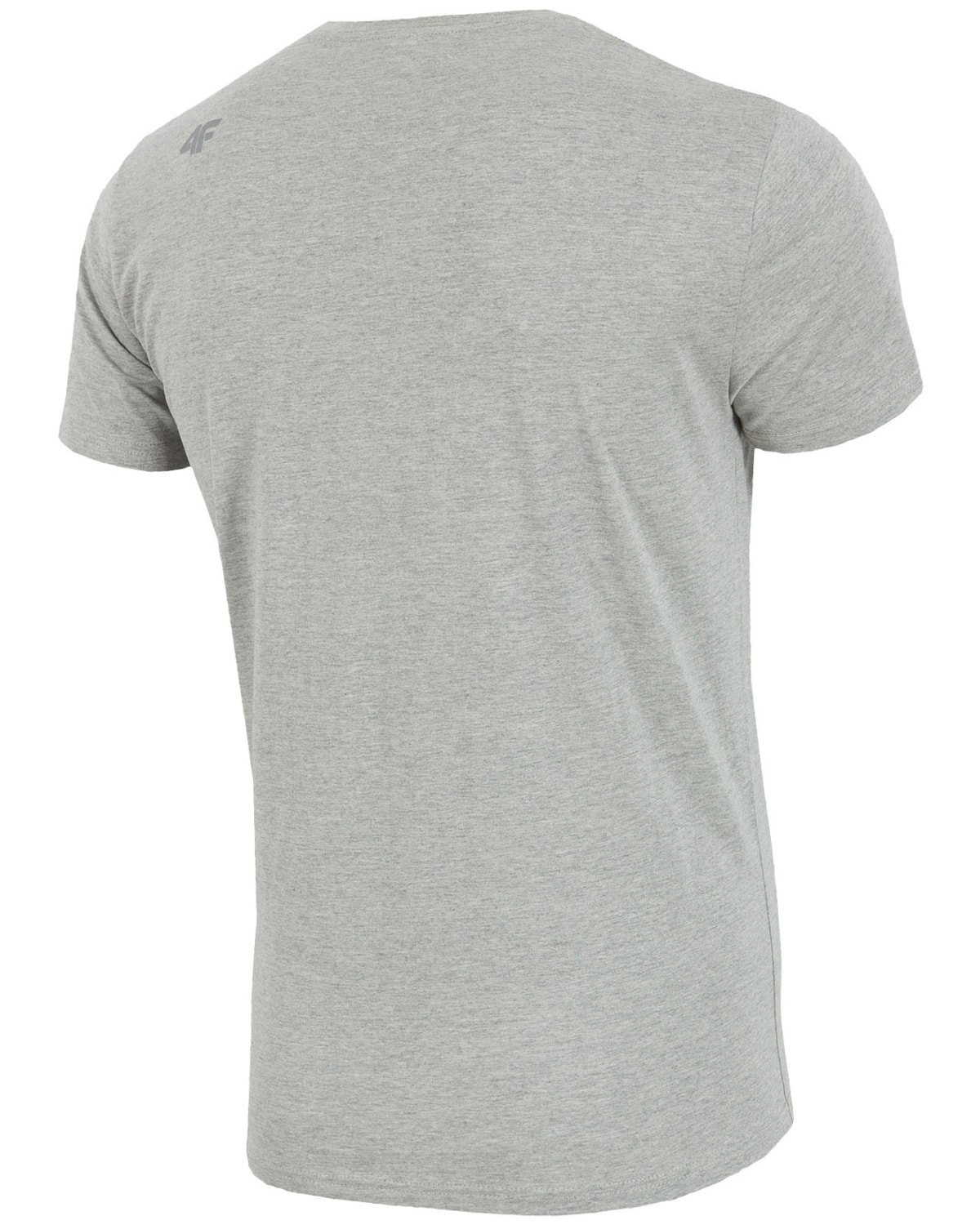 4F T-Shirt – Light Gray Melange