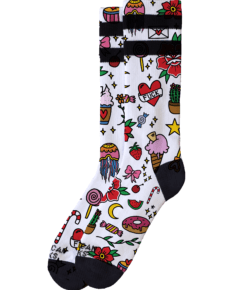 American Socks Rosey Jones Tattoo Girl - Mid High