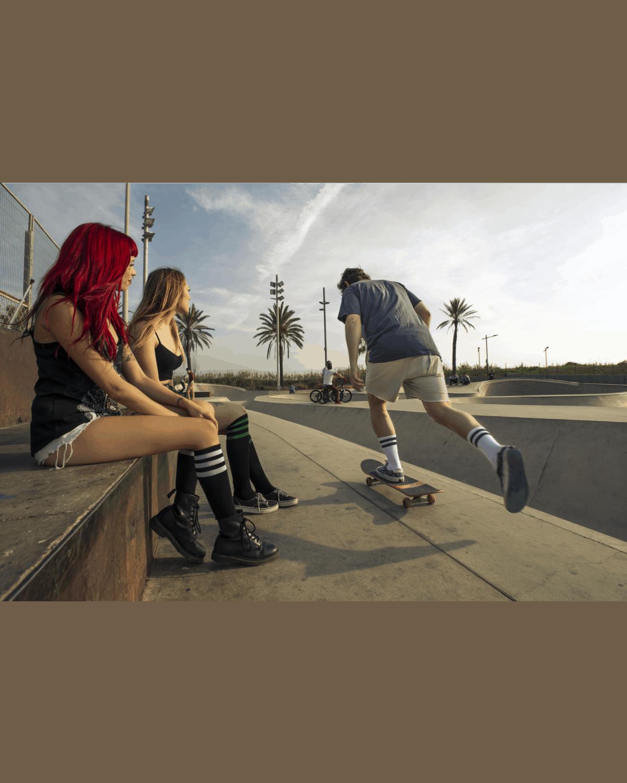 American Socks Old School – Mid High