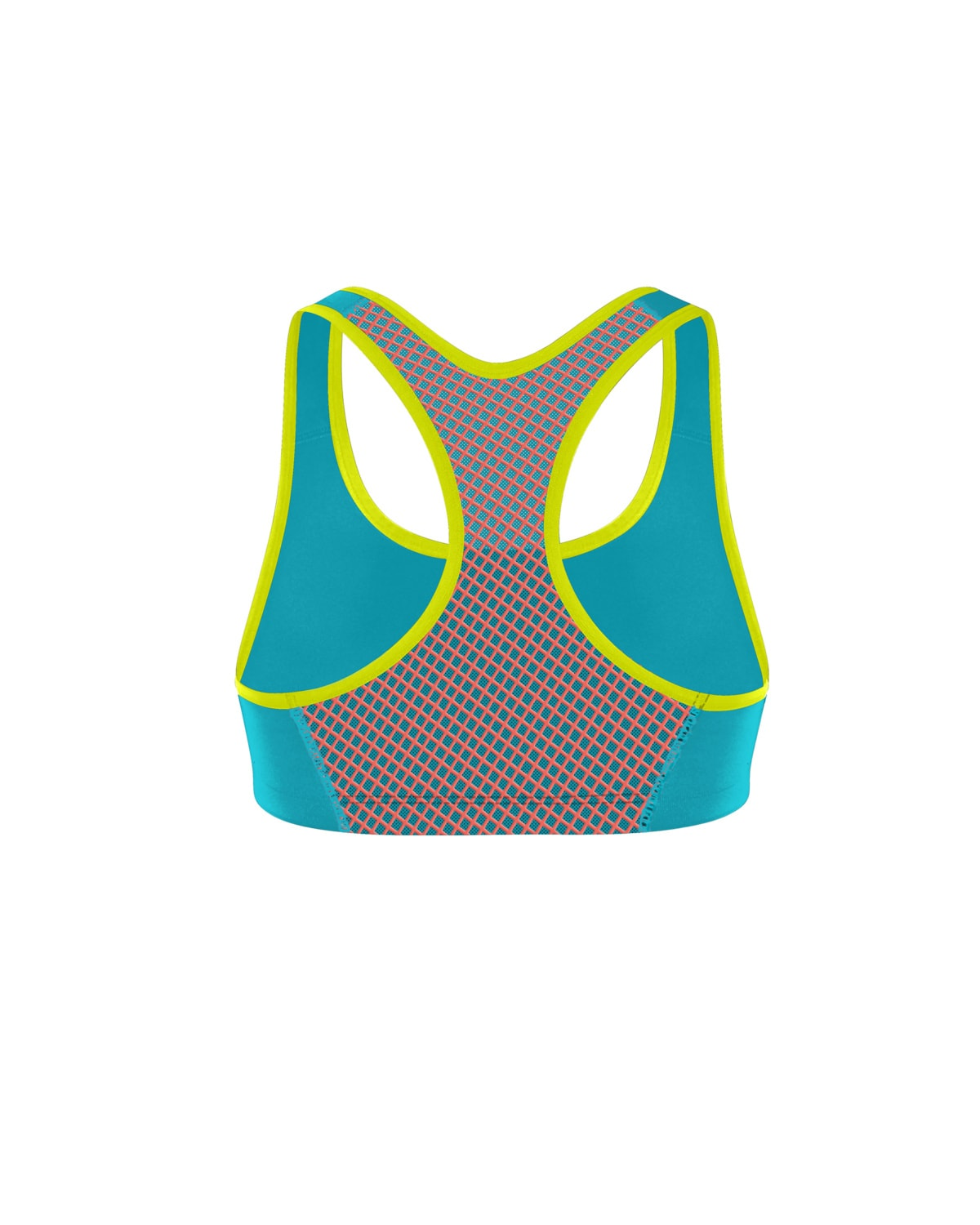 Shock Absorber Active Crop Top – Ocean Wave