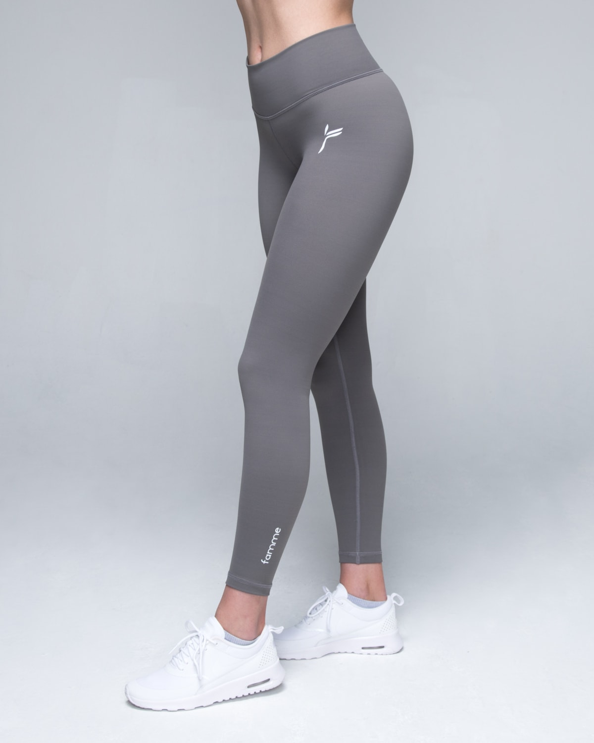 Famme Grey Essential Tights3