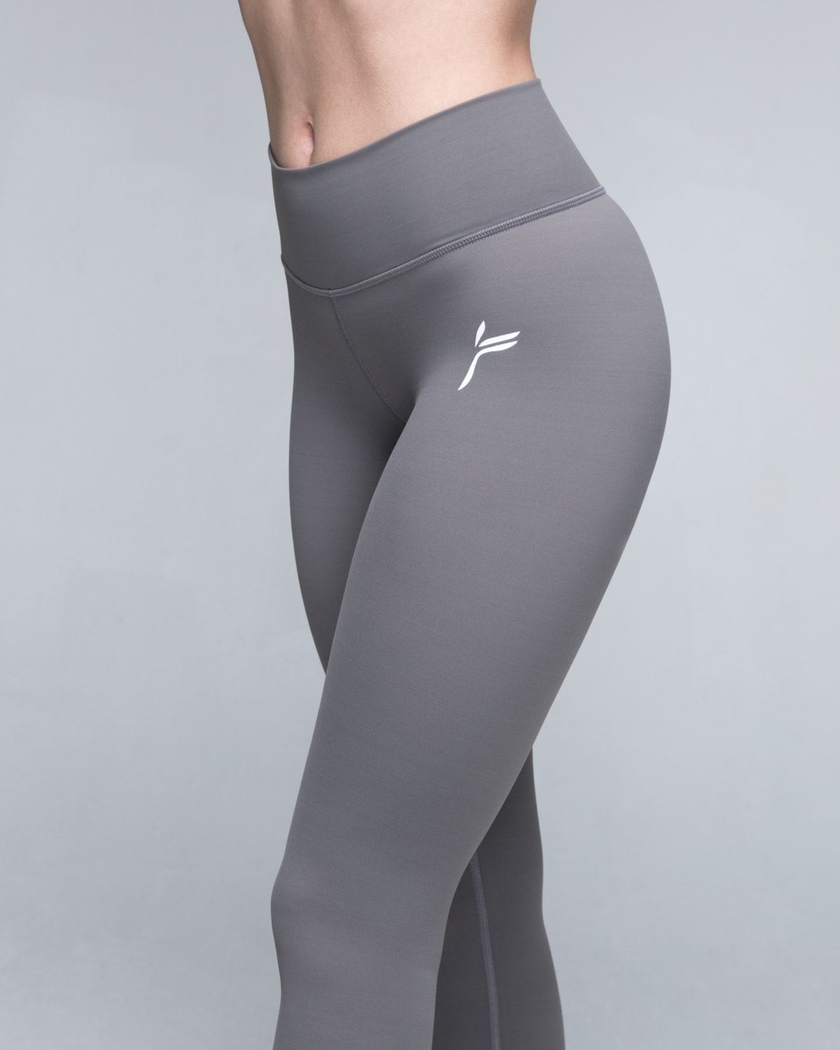 Famme Grey Essential Tights4