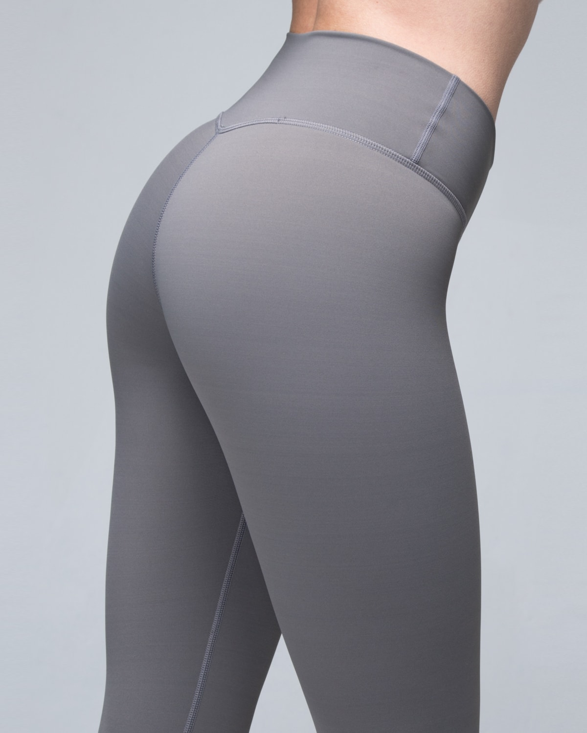 Famme Grey Essential Tights5