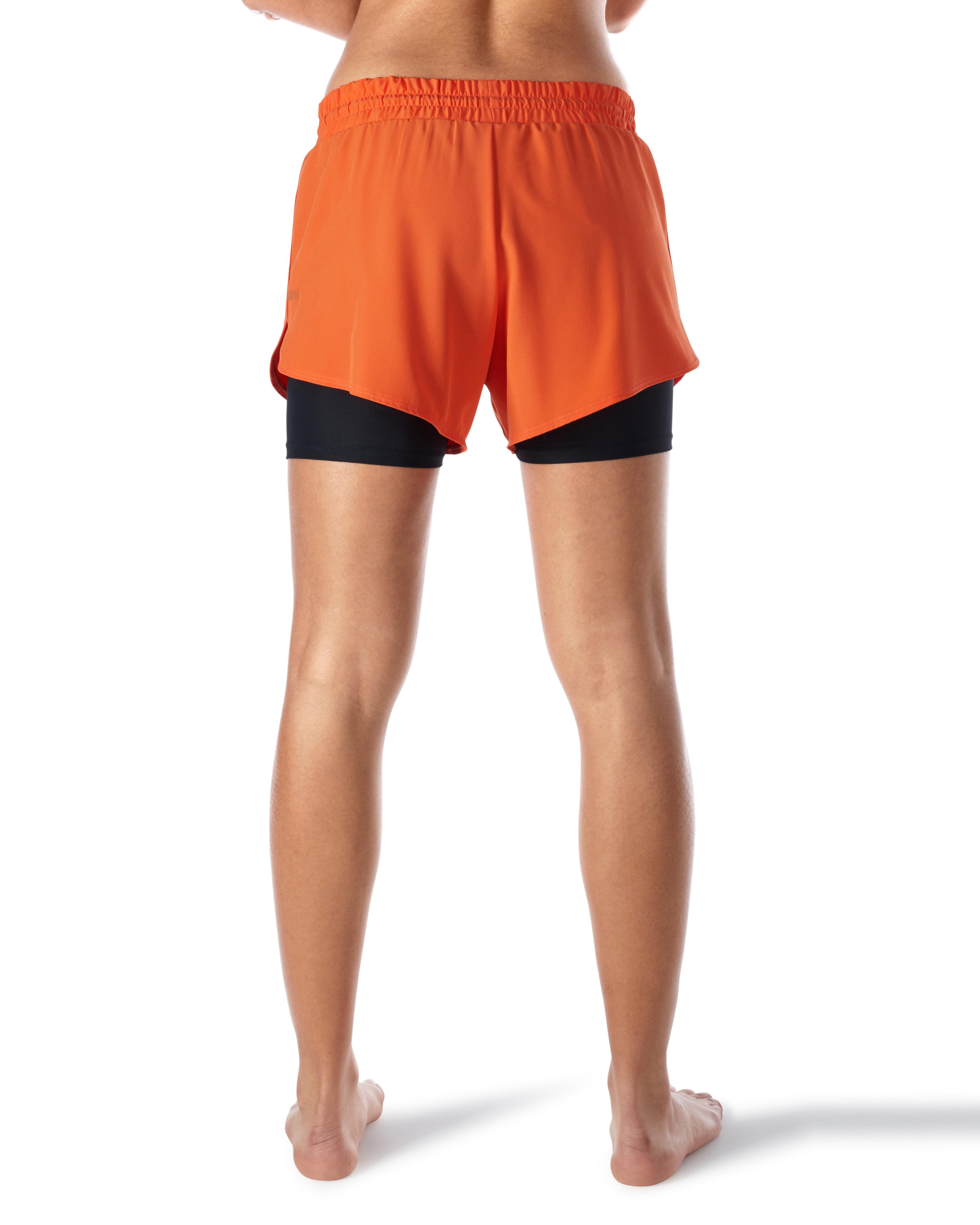 Skiny L. Shorts - Blazing Orange