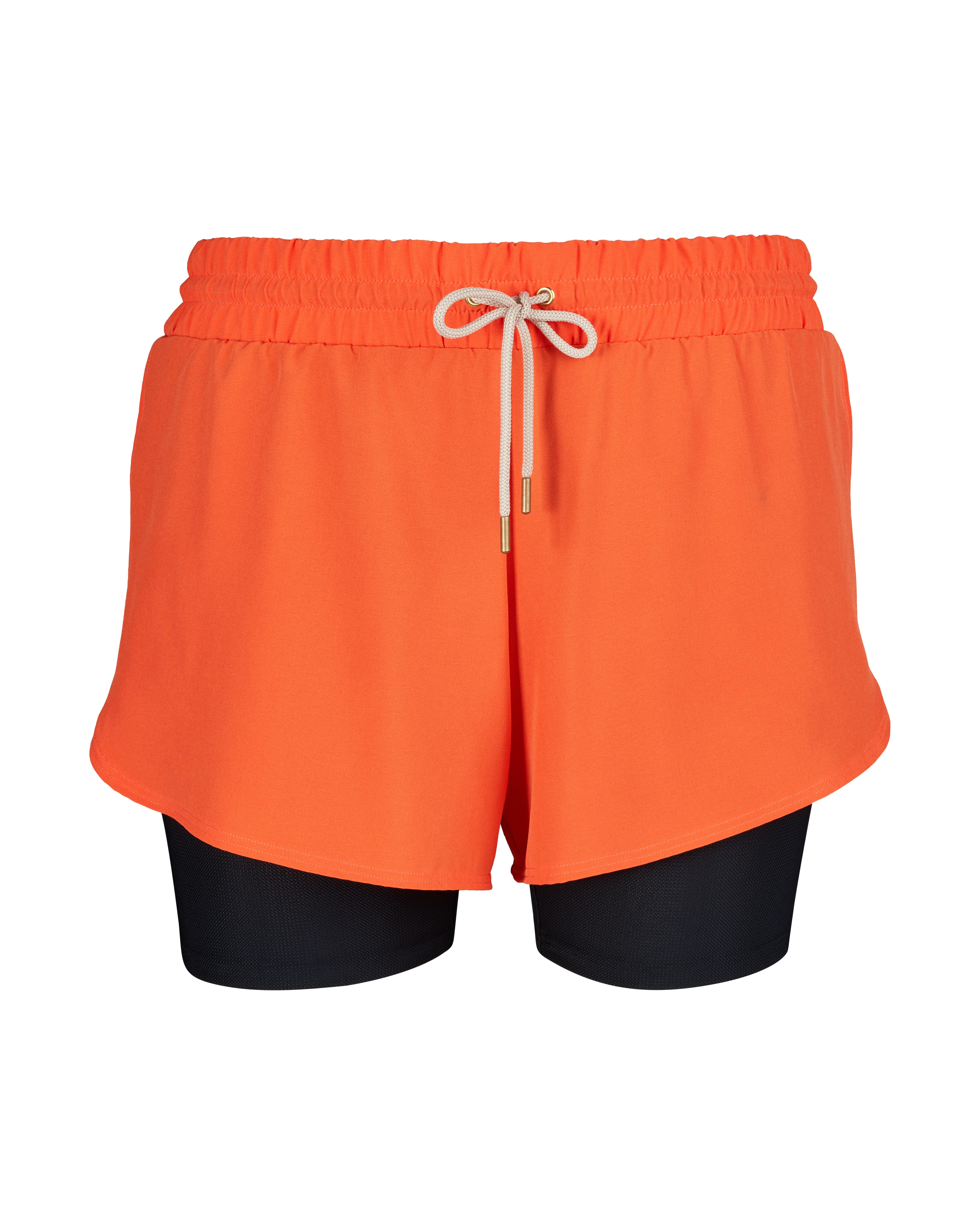Skiny Shorts - Blazing Orange