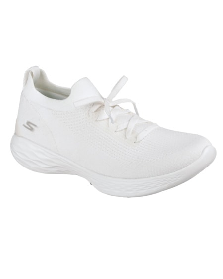 Skechers Womens You Shine - White