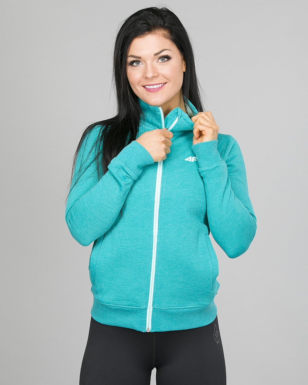 4F Sweatshirt, Emerald h4l17-bld002-1518