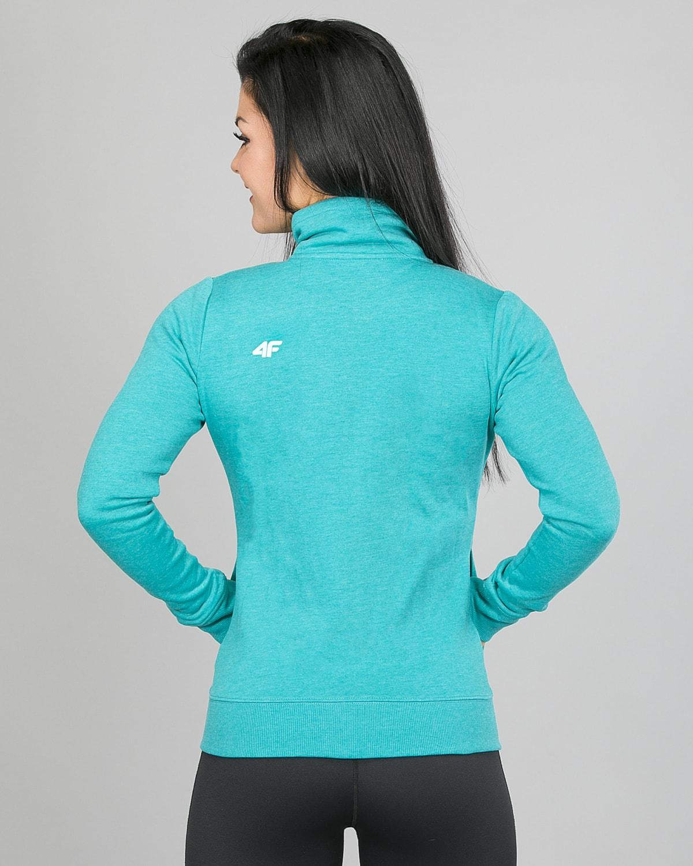 4F Sweatshirt, Emerald h4l17-bld002-1518 d