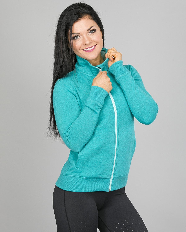 4F Sweatshirt, Emerald h4l17-bld002-1518 g