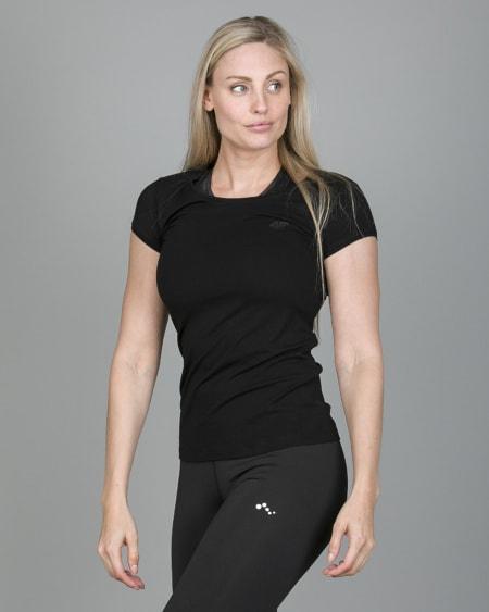 4F T-Shirt Women – Black tsd001