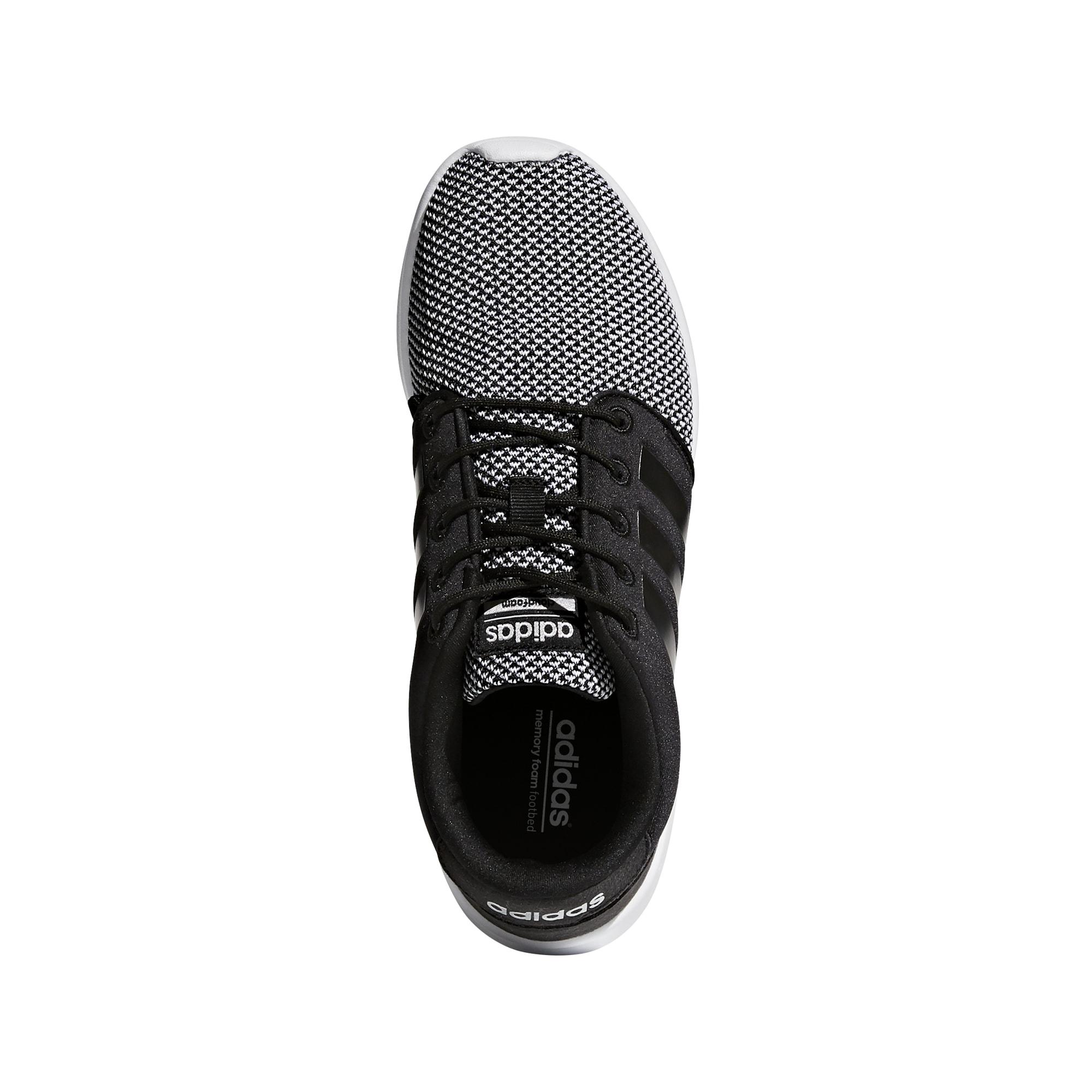 Adidas Cloudfoam QT Racer joggesko Core blackmatte silver Tights.no