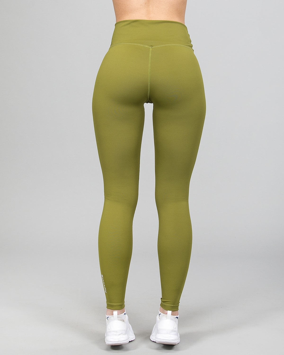 Famme Essential High Waist Legging – Forest Green ehwt-fg d