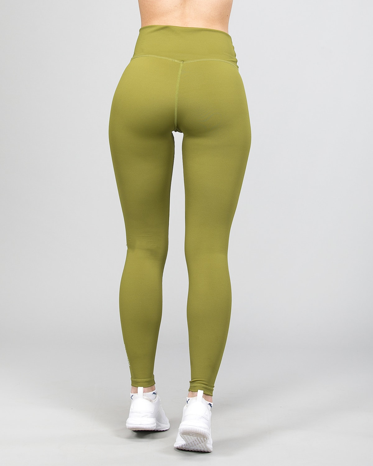 Famme Essential High Waist Legging – Forest Green ehwt-fg e