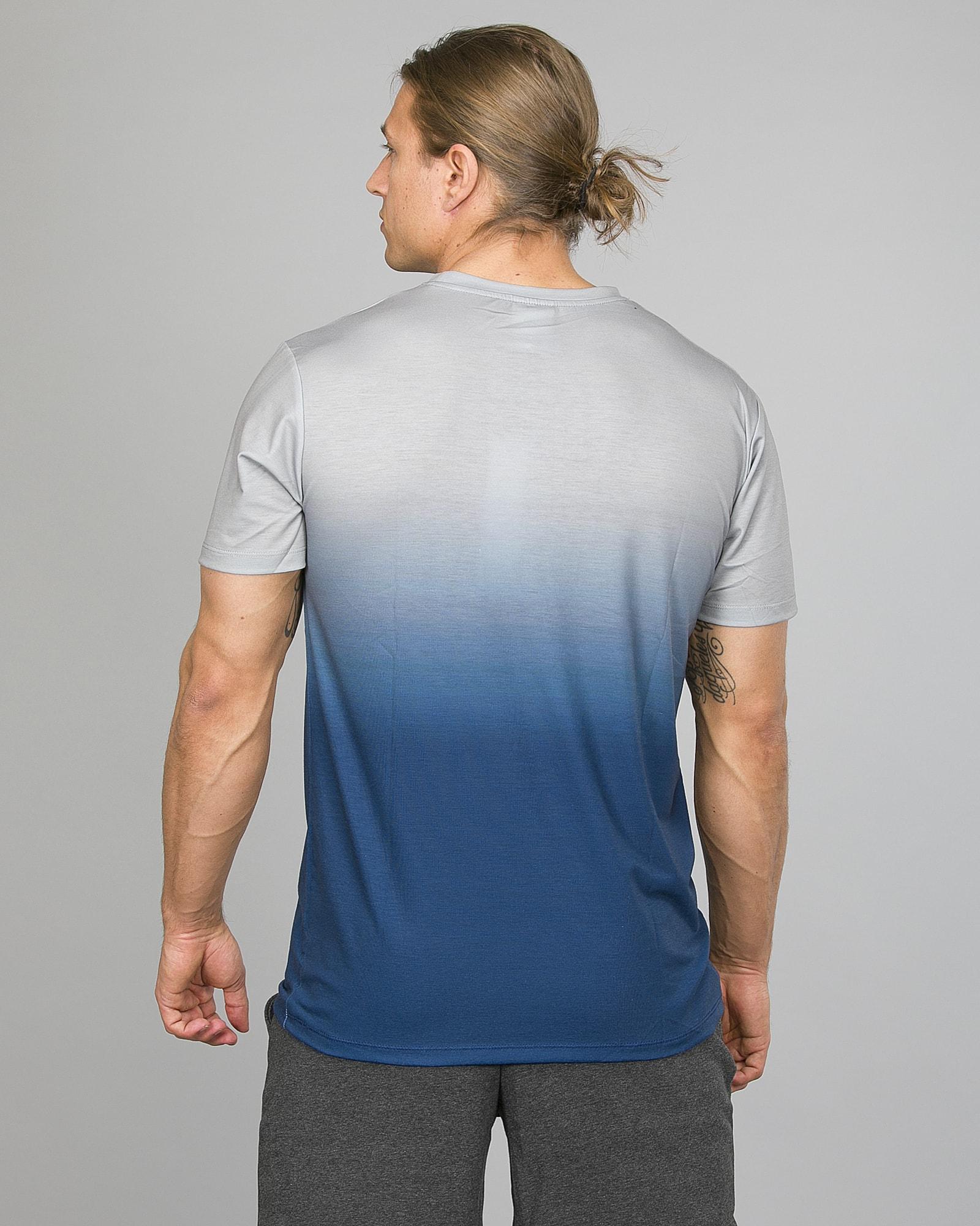 Hype Midnight Fade T-Shirt Men ss18210b Blue:Grey d