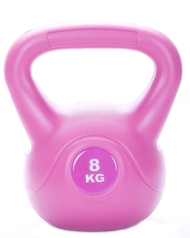 LEVITY Premium Fitness Vinyl Kettlebell 8kg