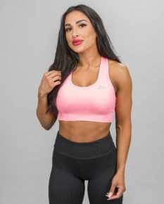 Only Play Daisy Seamless Sports Bra - Lipstick Pink 15101974