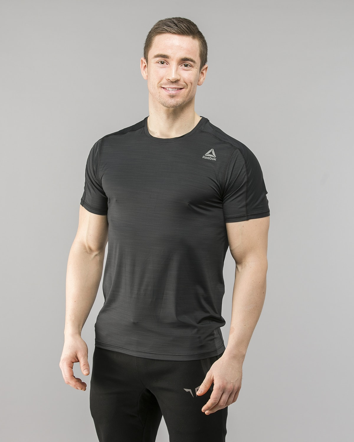 Reebok ActivChill Move T-Shirt – Black cf7877